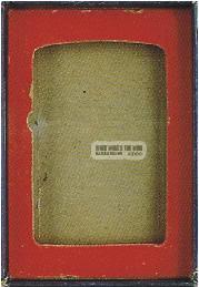 vỏ hộp zippo 1947-1951 vỏ hộp zippo 1947-1951 2