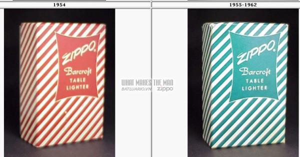 vỏ hộp zippo 1954-1962