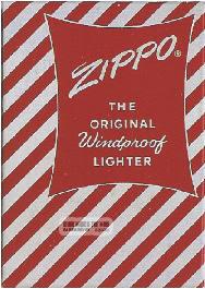 vỏ hộp zippo 1957-1961 1