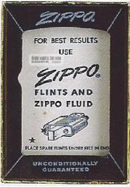 vỏ hộp zippo 1962-1966 2