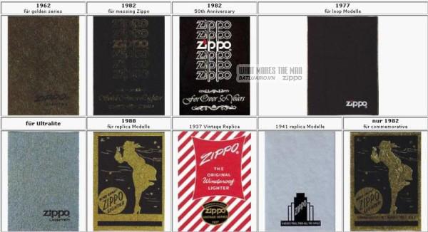 vỏ hộp zippo 1962-1982