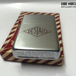Zippo 1952 – 1954 full Stamp Vỏ sắt – ruột sắt 1