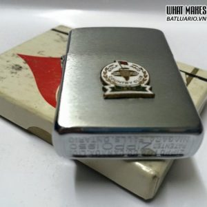 Zippo CANADA 1950s – Emblem GOLF AND COUNTRY CLUB đổ men 3