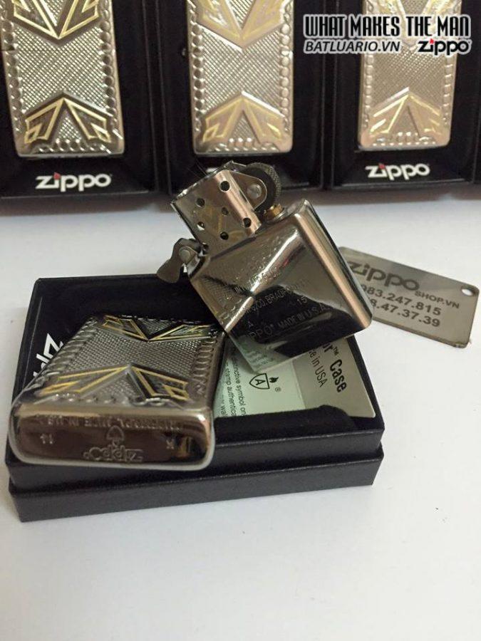 Zippo 28808 – Zippo Armor Dagger Brushed Chrome