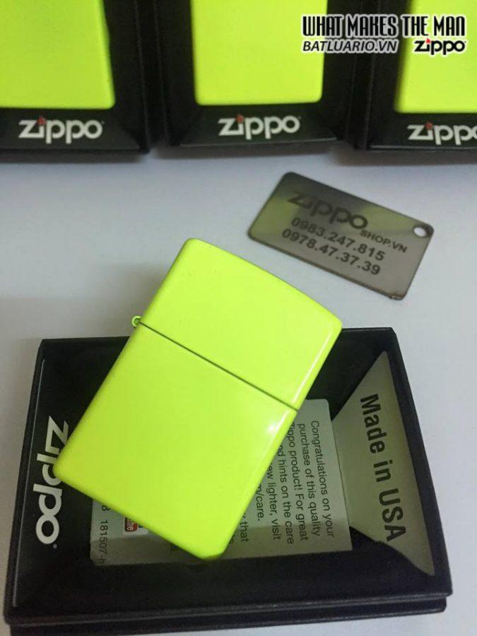 Zippo 28887 – Zippo Neon Yellow Matte
