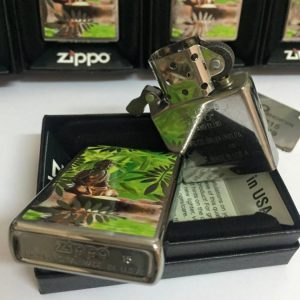 Zippo 29058 – Zippo Buddah Brushed Chrome