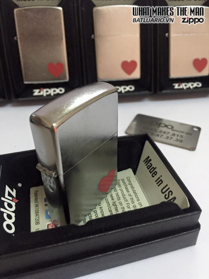 Zippo 29060 – Zippo Love Street Chrome