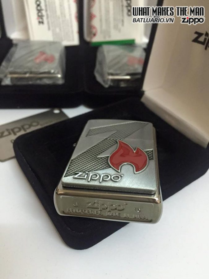 Zippo 29104 – Zippo Z Flame Brushed Chrome