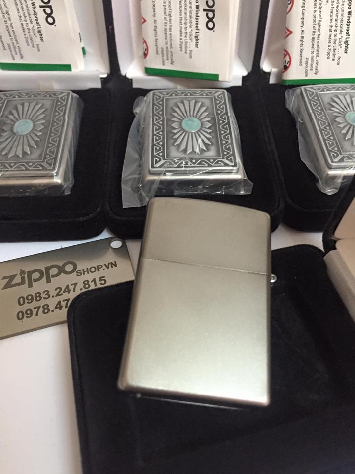 Zippo 29105 - Zippo Emblem Southwest Sun Satin Chrome 2
