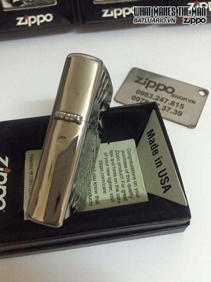 Zippo 29061 – Zippo Metal Abstract Brushed Chrome