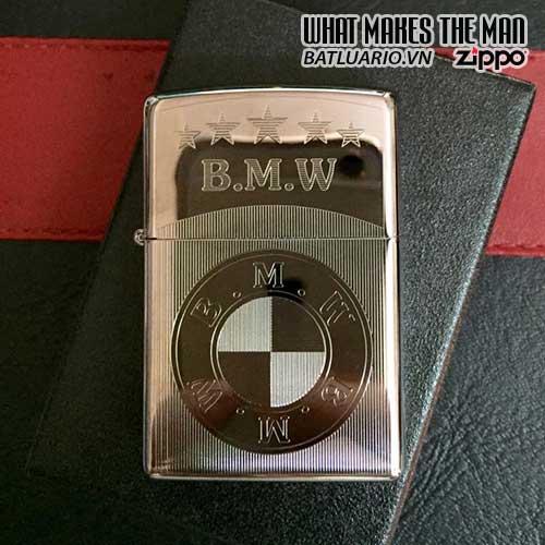 Zippo khắc B.M.W - Zippo 250.BMW