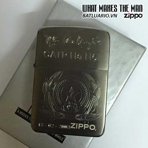 ZIPPO KHẮC BỘ CÔNG AN 06 – ZIPPO 24485.BCA06