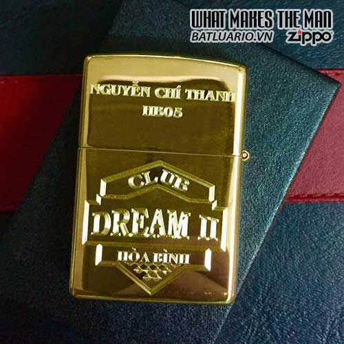 ZIPPO KHẮC CLUB DREAM II – ZIPPO 254B.CLUBDREAM