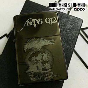 Zippo khắc Đầu Lâu - Zippo 2456.DL