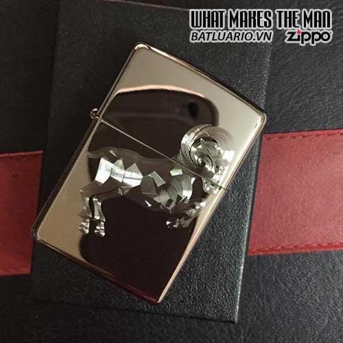 Zippo khắc Mùi 03 – Zippo 150.MUI03
