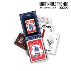 Zippo 24880 - Zippo Lighter & Playing Cards Gift Set