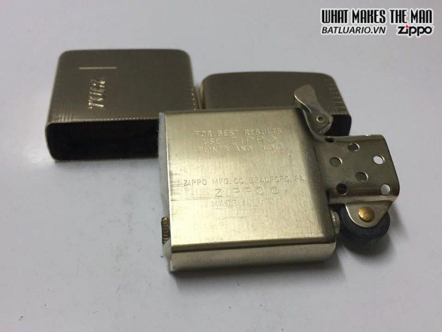 ZIPPO 10k gold filled 6-7x – Không box 2