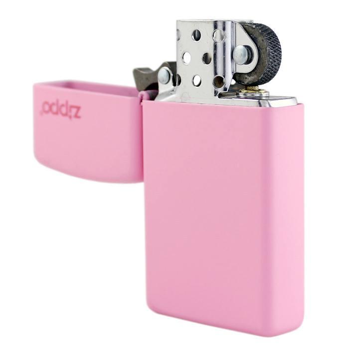 Zippo 1638ZL - Zippo Slim Pink Matte