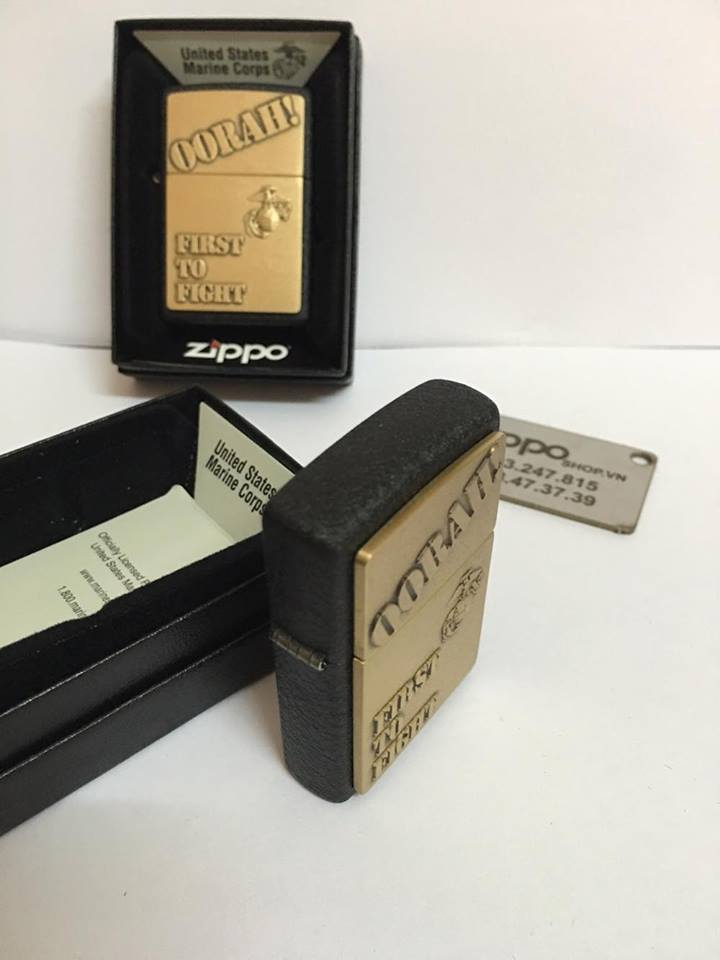 Zippo 28368 - Zippo First to Fight Black Crackle 4