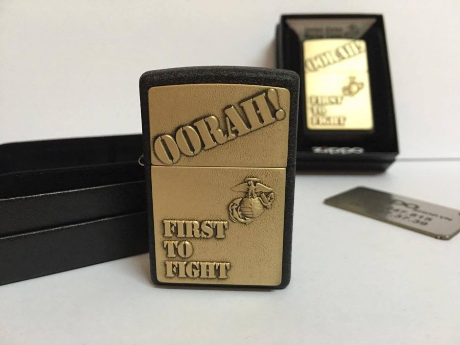 Zippo 28368 - Zippo First to Fight Black Crackle 6