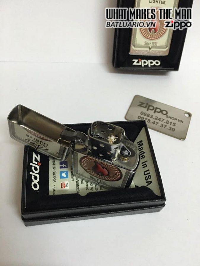 Zippo 28831 – Zippo Trading Cards Brushed Chrome 2