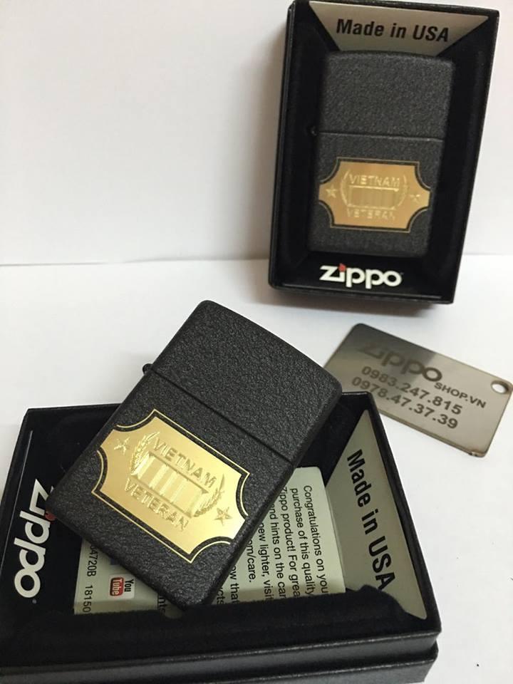 Zippo 28875 - Zippo Vietnam War Black Crackle 1