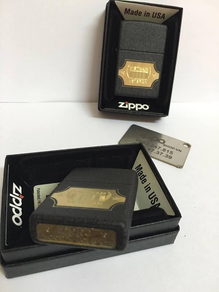Zippo 28875 - Zippo Vietnam War Black Crackle 2