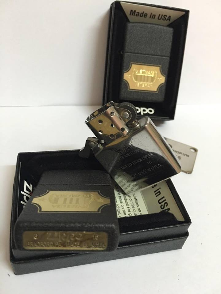 Zippo 28875 - Zippo Vietnam War Black Crackle 3
