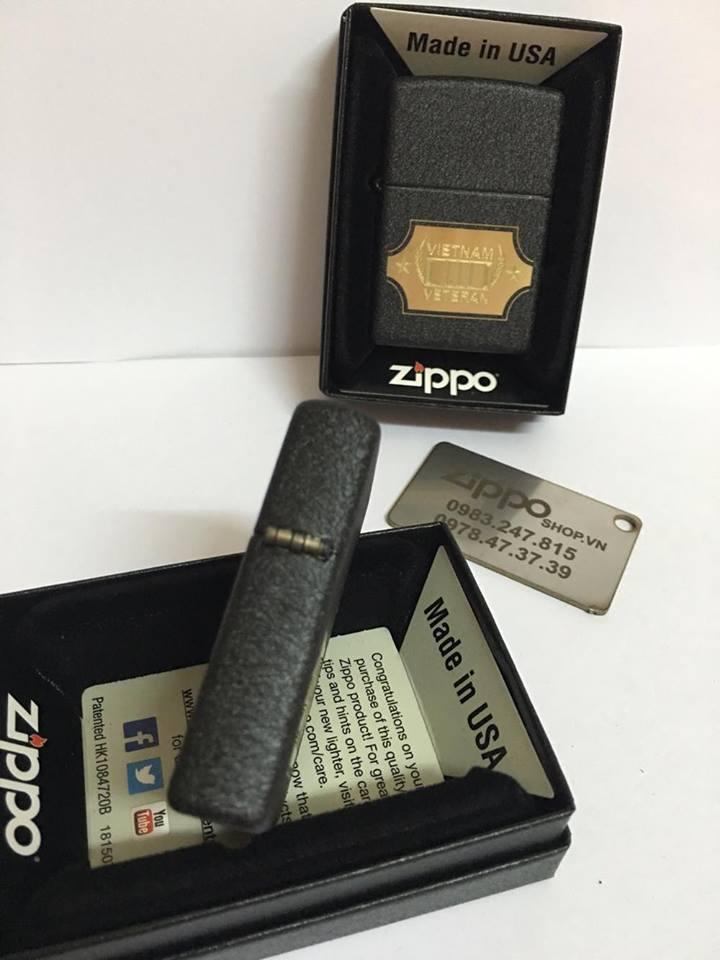 Zippo 28875 - Zippo Vietnam War Black Crackle 5