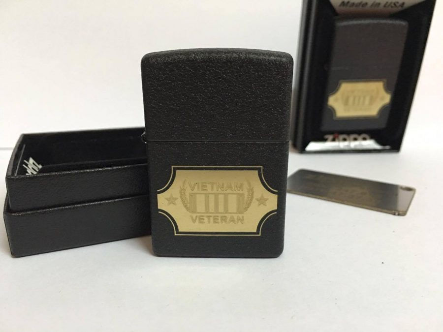 Zippo 28875 - Zippo Vietnam War Black Crackle 7