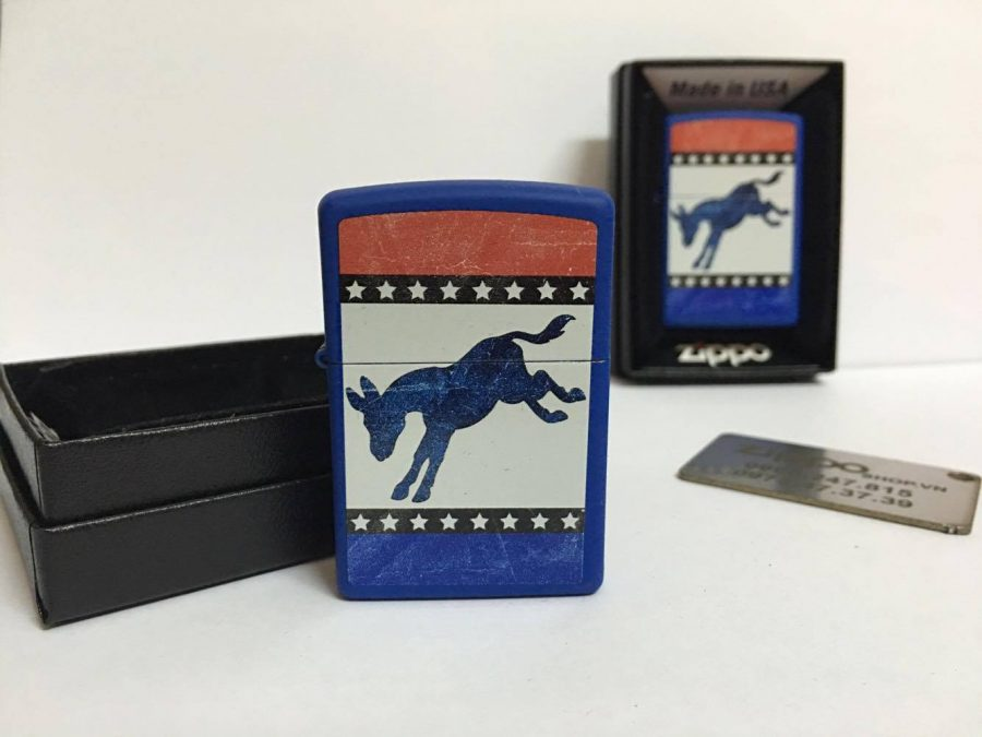 Zippo 29166 - Zippo Democrat Party Elephant Royal Blue Matte 7