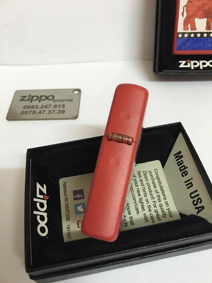 Zippo 29167 - Zippo Republican Party Elephant Red Matte 4