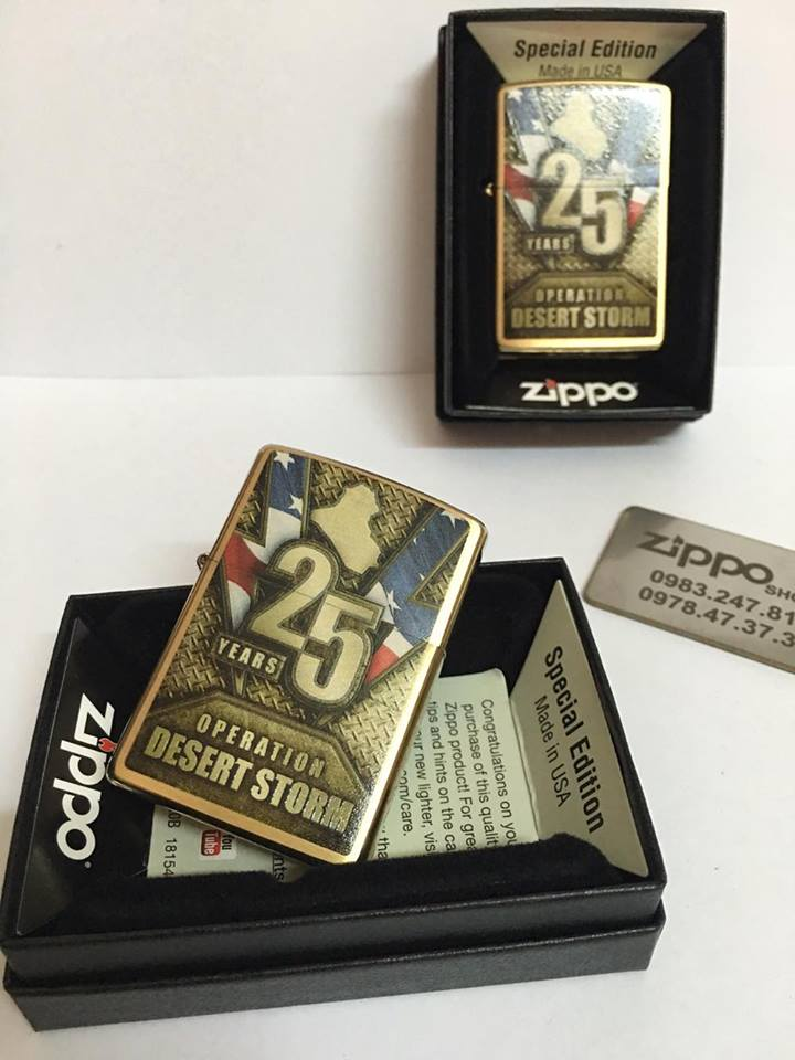 Zippo 29177 - Zippo Operation Desert Storm 25th Anniversary 1