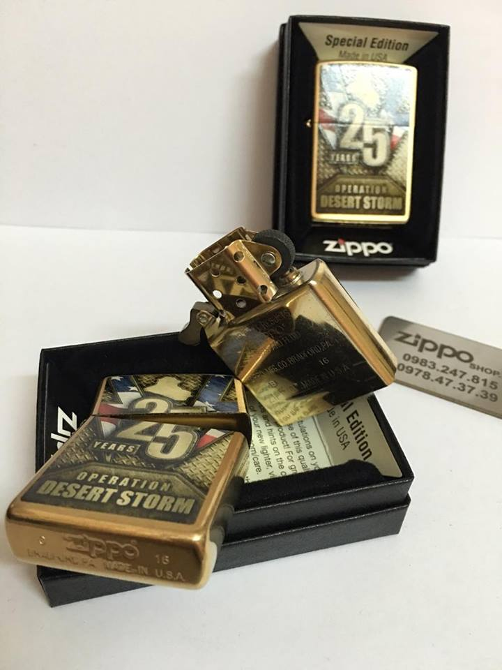 Zippo 29177 - Zippo Operation Desert Storm 25th Anniversary 2