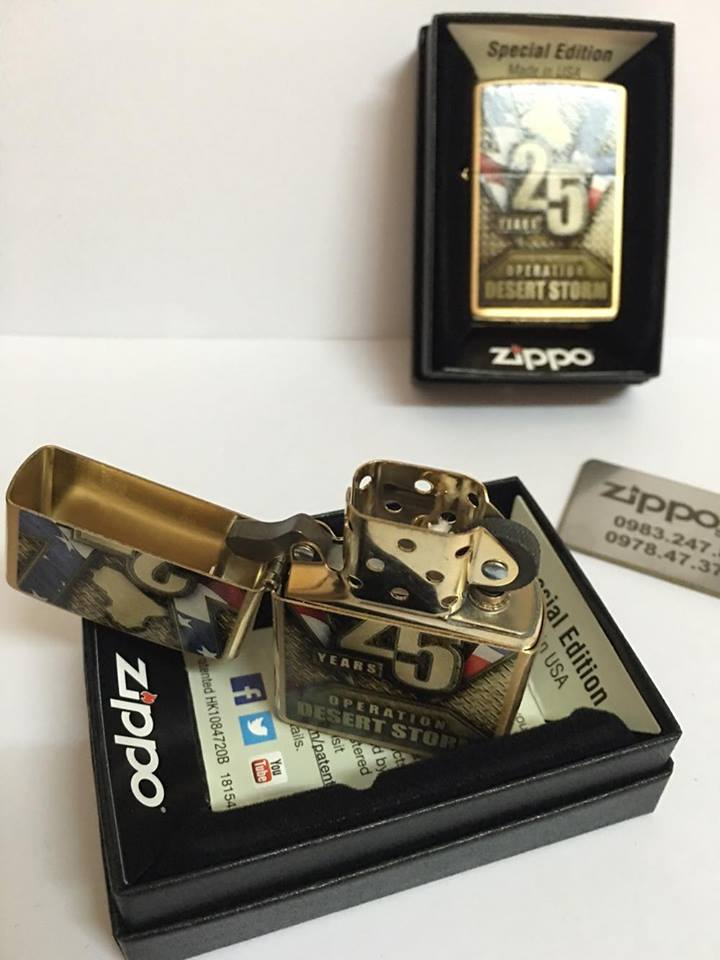 Zippo 29177 - Zippo Operation Desert Storm 25th Anniversary 4