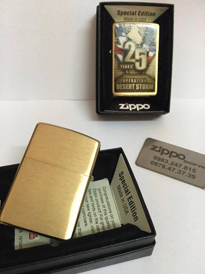 Zippo 29177 - Zippo Operation Desert Storm 25th Anniversary 6