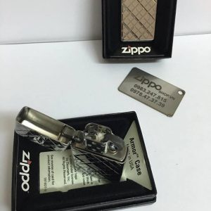 Zippo 29186 - Zippo Slim Armor Elegance Deep Carved High Polish Chrome 5