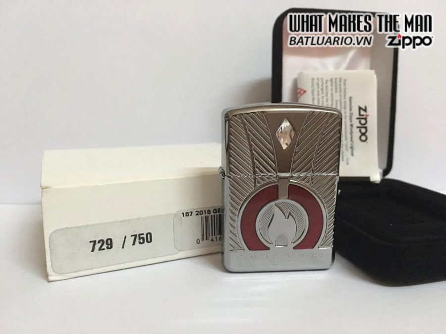 ZIPPO LIMITED ARMOR CASE COLLECTIBLE OF THE YEAR 2016 EU 1