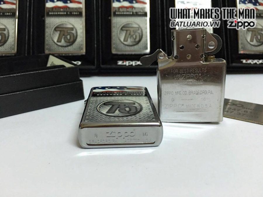 Zippo 29176 – Zippo Pearl Harbor 75th Anniversary Brushed Chrome 5