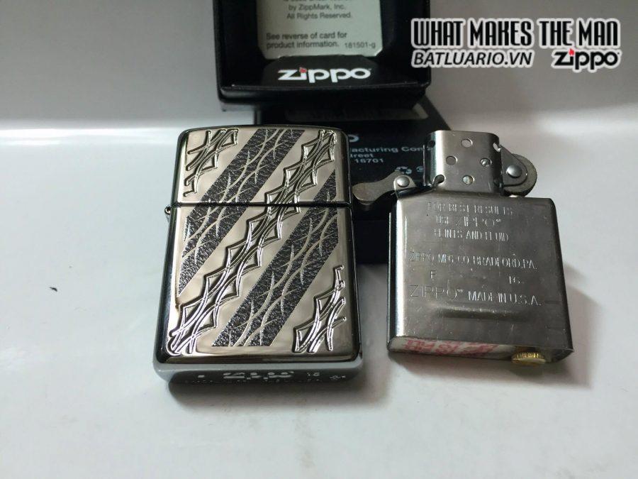 Zippo 29235 – Zippo Deep Carve Barbed Scallops 1