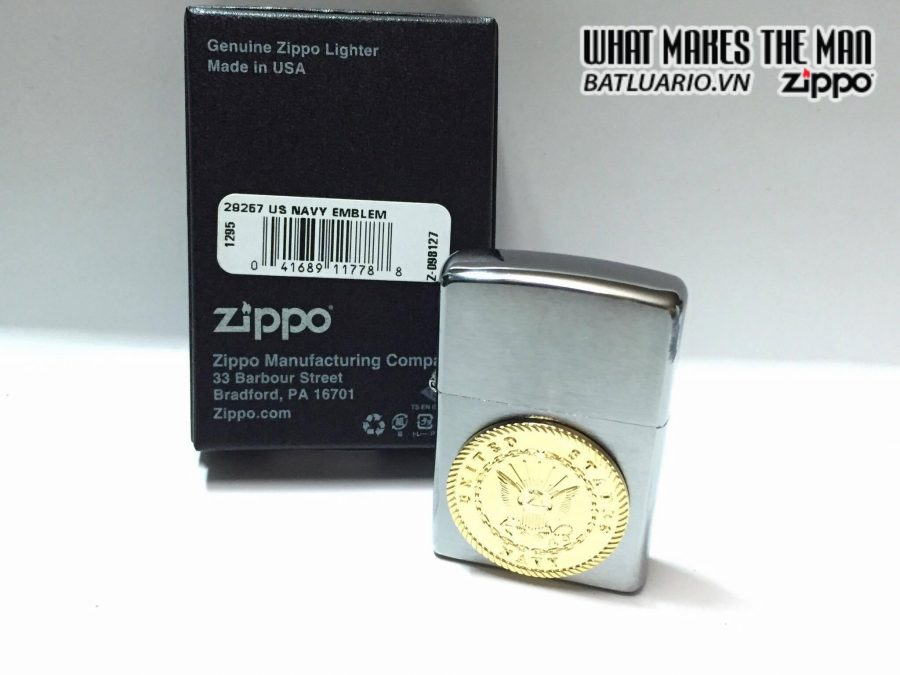 Zippo 29257 – Zippo US Navy Emblem 3