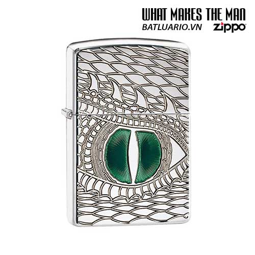 Zippo 28807 - Zippo Armor Dragon Eye Polished Chrome