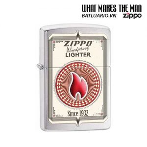 Zippo 28831 – Zippo Trading Cards Brushed Chrome