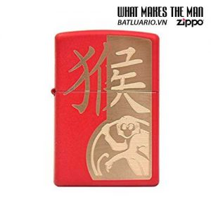 Zippo 28955 - Zippo Year Of The Monkey Red Matte