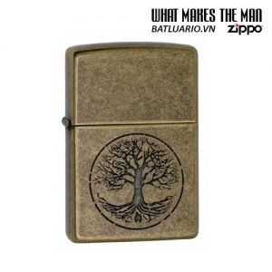 Zippo 29149 – Zippo Tree of Life Antique Brass