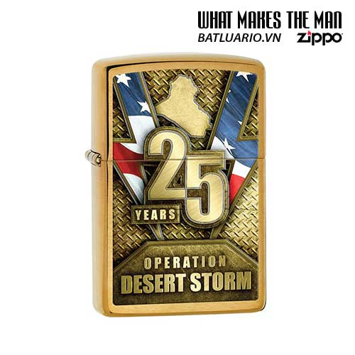 Zippo 29177 – Zippo Operation Desert Storm 25th Anniversary