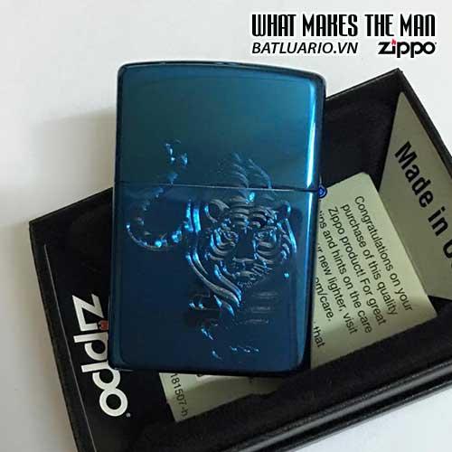 ZIPPO KHẮC HỔ 08 – ZIPPO 20446.HO08