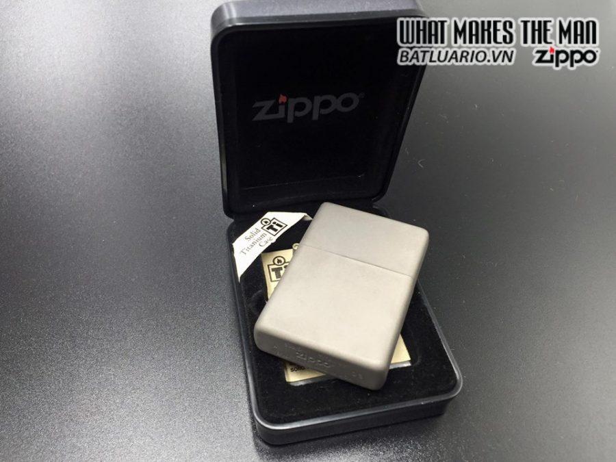 ZIPPO Solid Titanium – TI – 2003