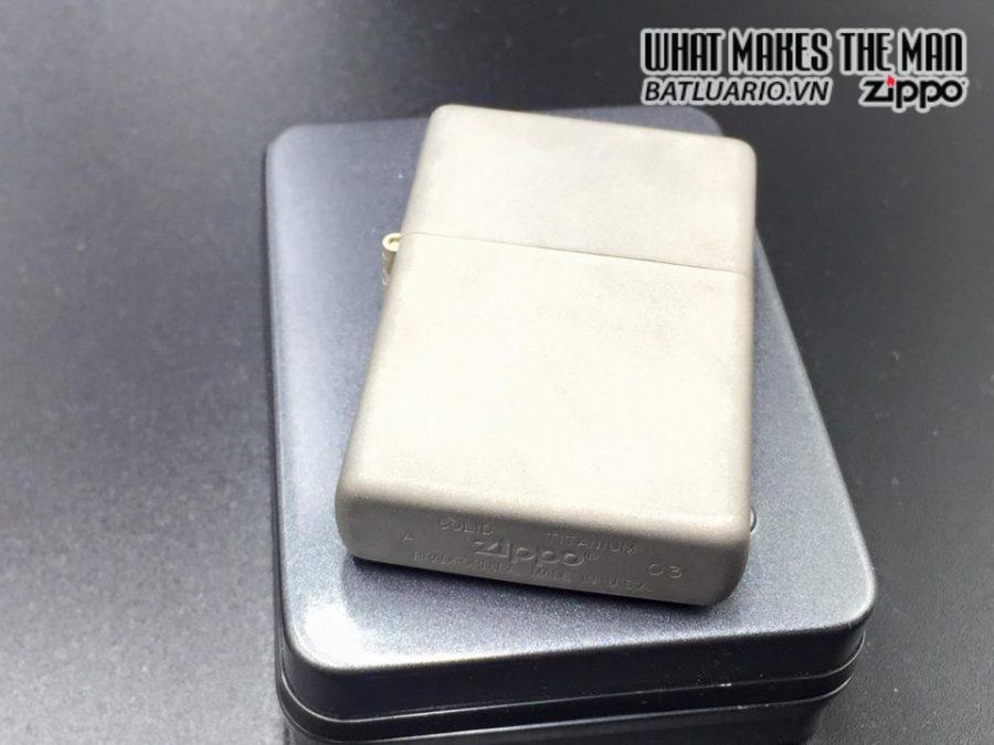 ZIPPO Solid Titanium – TI – 2003 4
