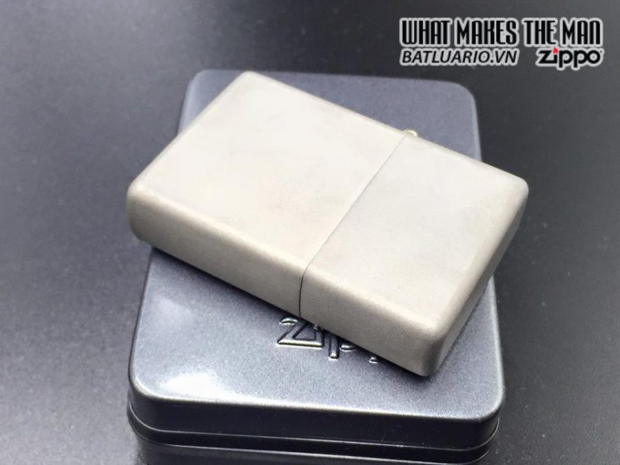 ZIPPO Solid Titanium – TI – 2003 3